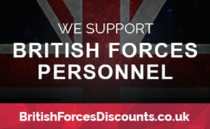 British Forces Discounts Badge